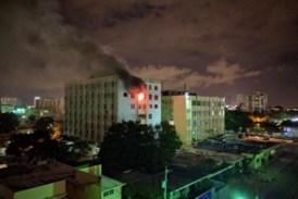 Bomberos sofocan incendio en  UCE