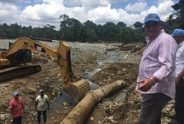 Alejandro Montás afirma sectores afectados comenzaron a recibir agua potable