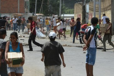 Protestas en Venezuela dejan un muerto y comercios saqueados