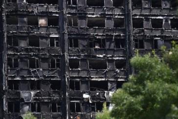 Aumenta a 58 el número de víctimas en el incendio de Londres