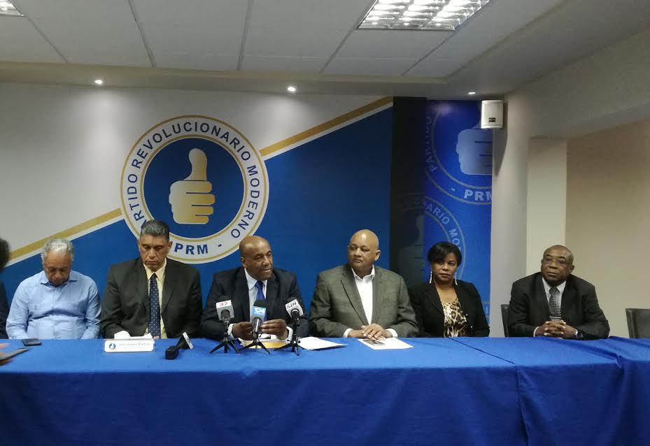 PRM afirma informe de la Comisión Especial confirma violaciones y sobrevaluaciones en la licitación de Odebrecht