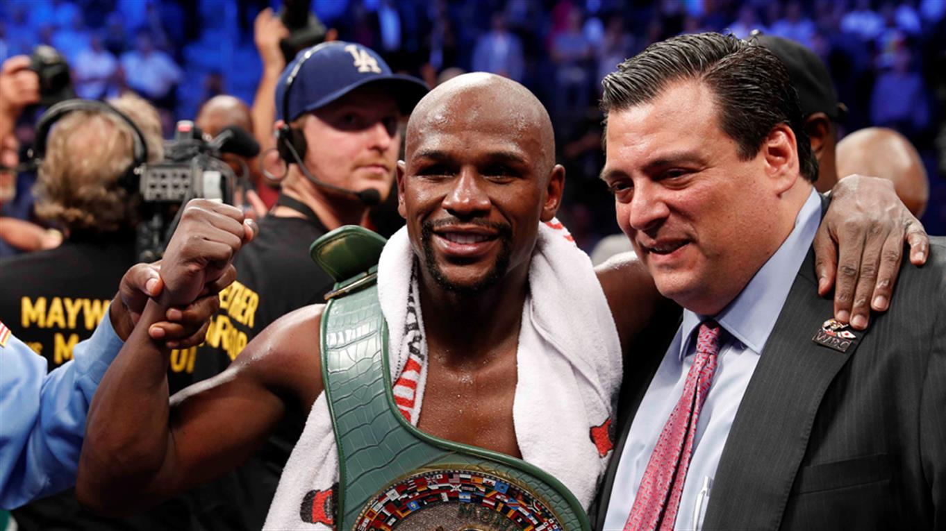 Floyd Mayweather vs. Conor McGregor: el dinero y las marcas deportivas que dejó el show en Las Vegas