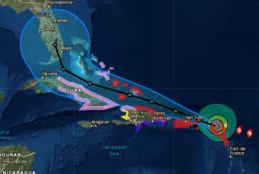Huracán Irma se aleja poco a poco de Puerto Rico