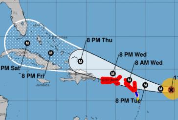 Irma aumenta su fuerza a 180 mph