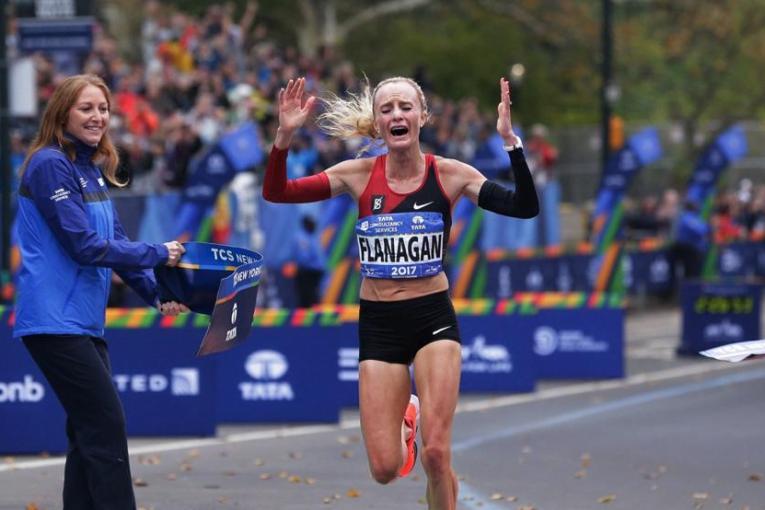 Kamworor y Flanagan triunfan en la maratón de Nueva York