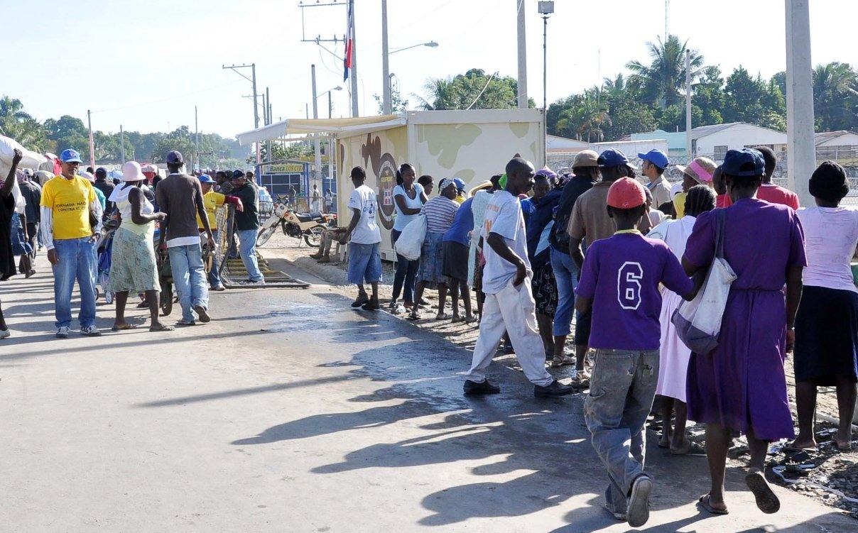 Apresan cerca de 500 haitianos indocumentados trataron de entrar ilegalmente a RD