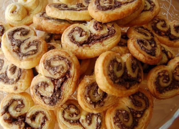 te explicamos como hacer palmeritas rellenas de nutella