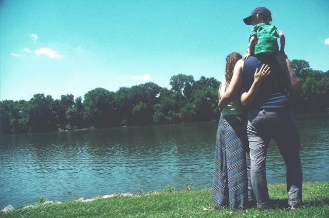 Madre y padre.