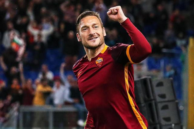 Francesco Totti, il capitano.