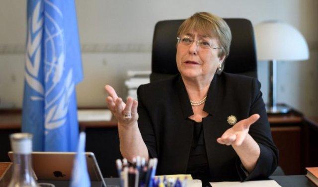 Michele Bachellet, comisionada DDHH ONU.
