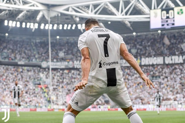 Cristiano Ronaldo. (Twitter Juventus)