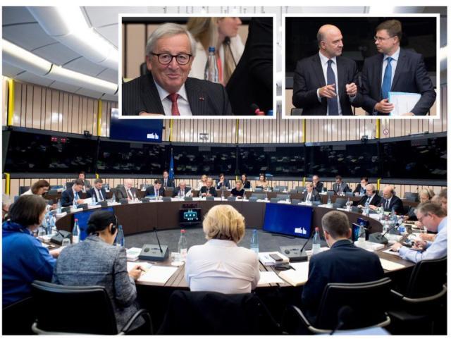 Anuncio en la Comisión Europea.