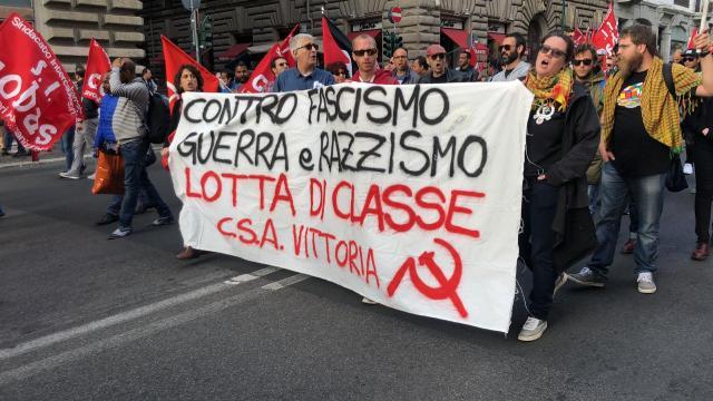 Marcha antirracismo. (Ahora Roma)