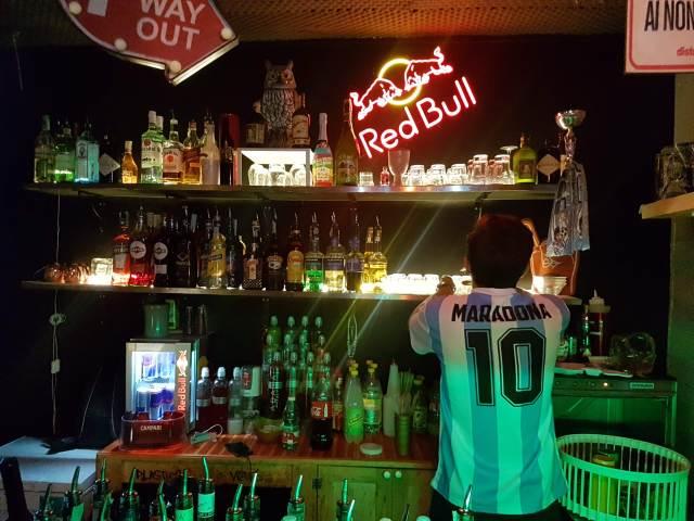 Bar Ruin en Vomero (Foto: Lucas Amestoy).