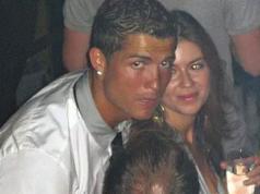 Cristiano y Kathryn Mayorga. (The Sun)