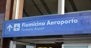 Aeropuerto de Fiumicino. (Ahora Roma)