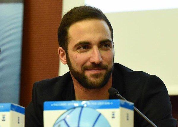 Gonzalo Higuaín. (Twitter oficial)