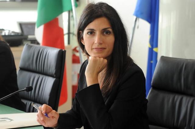Virgina Raggi, alcaldesa de Roma. (Facebok)