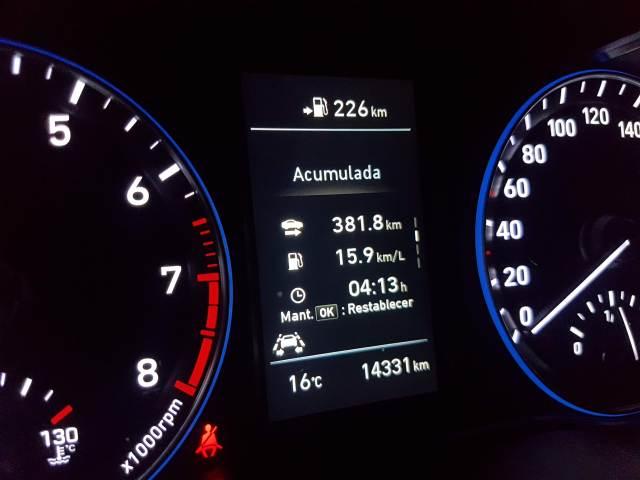 Un adelanto de lo que consume el Hyundai Kona (Foto: ahoraroma.com).