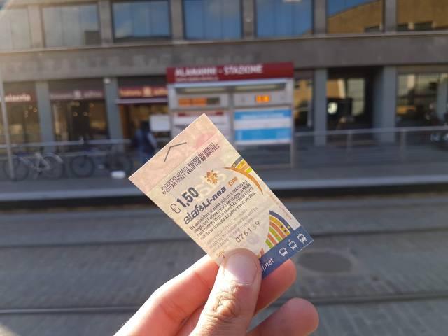 Tranvía de Florencia. Foto: Ahoraroma.com