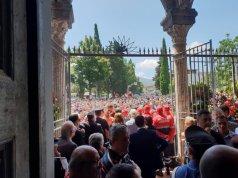 Funeral Mario Rega