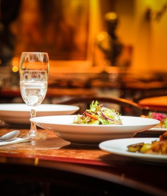 Restaurante italiano.