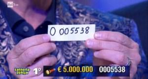 Sorteo Lotería Italia.