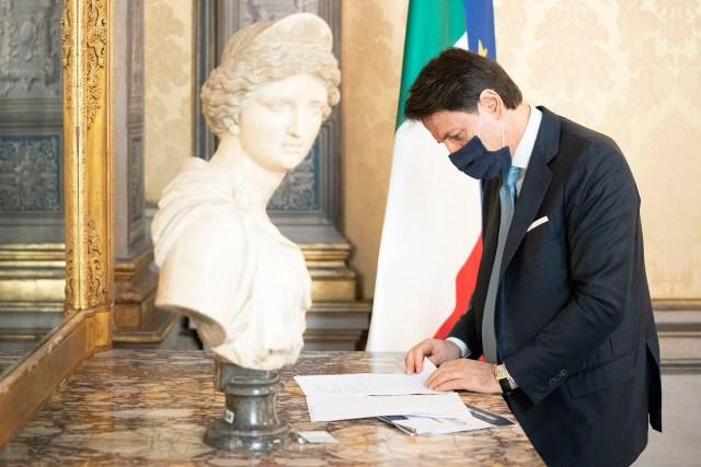Giuseppe Conte.