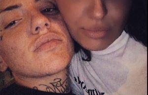La víctima y su novio (Foto: Instagram @ciromigliore_)