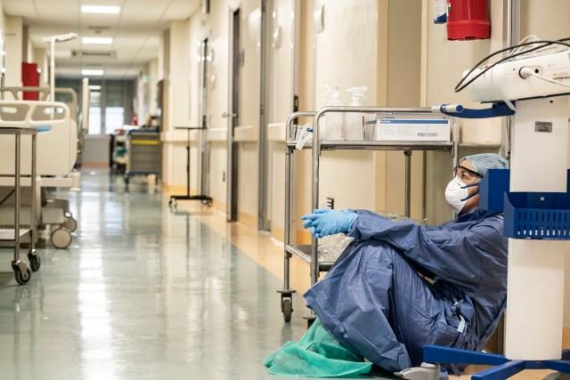 El Hospital San Salvatore en Pésaro durante el COVID-19 (Alberto Giuliani, CC BY-SA 4.0 - Archivo)