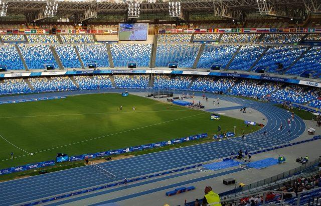 Estadio San Paolo.