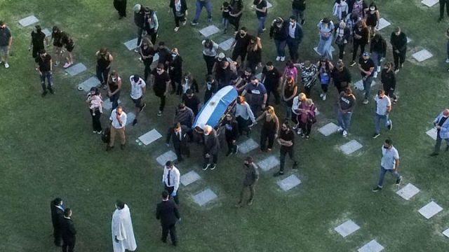 Cementerio de Maradona.