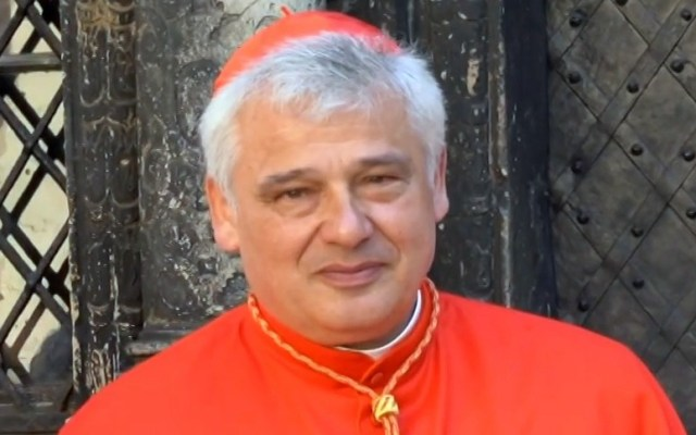 El cardenal polaco el cardenal polaco Konrad Krajewski (Foto: lvivadm, CC BY 3.0 - Archivo)