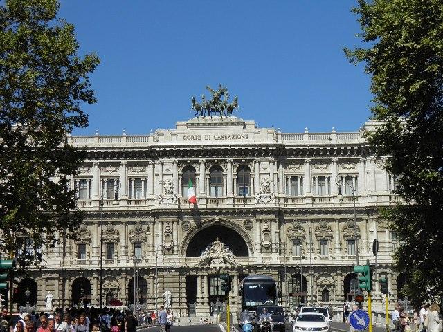 Corte Suprema de Casación, en Roma (Foto: Gzen92, CC BY-SA 4.0 - Archivo)