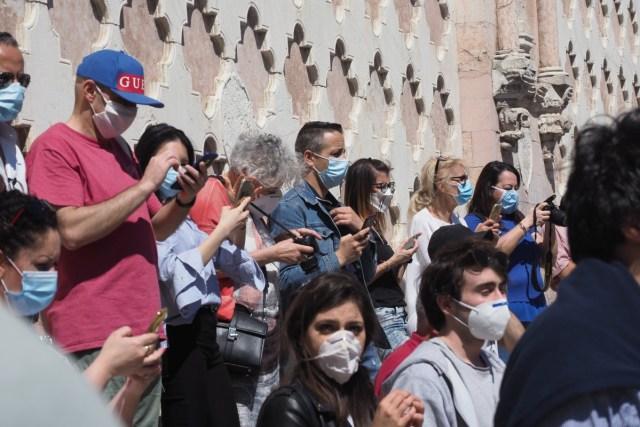 Turistas en Perugia durante el COVID-19 (Foto: PxHere - Archivo)