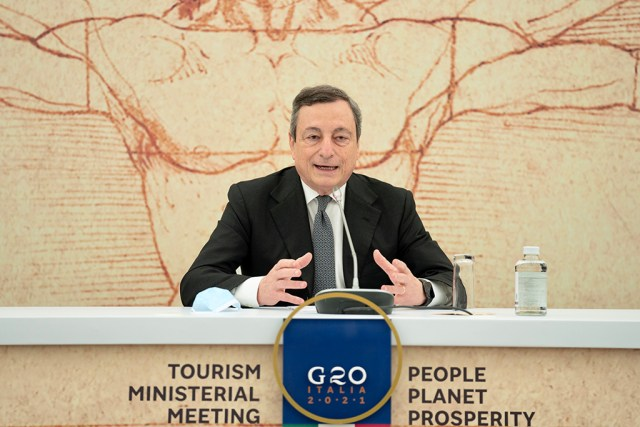 Draghi anticipó el regreso del turismo a Italia (Foto: Governo)