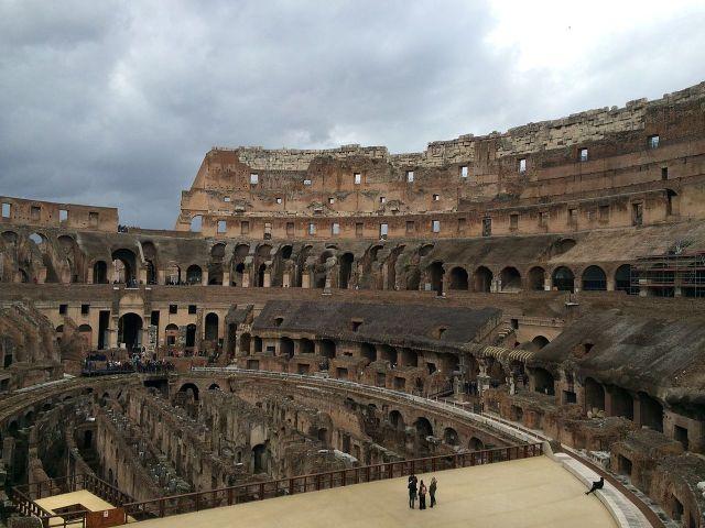El interior del Coliseo Romano (Foto: Historiadormundo, CC BY-SA 4.0 - Archivo)