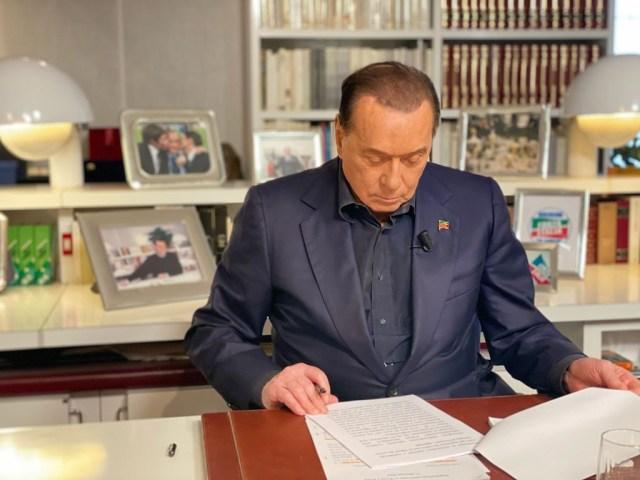 Silvio Berlusconi en 2021 (Foto: Twitter - Archivo)