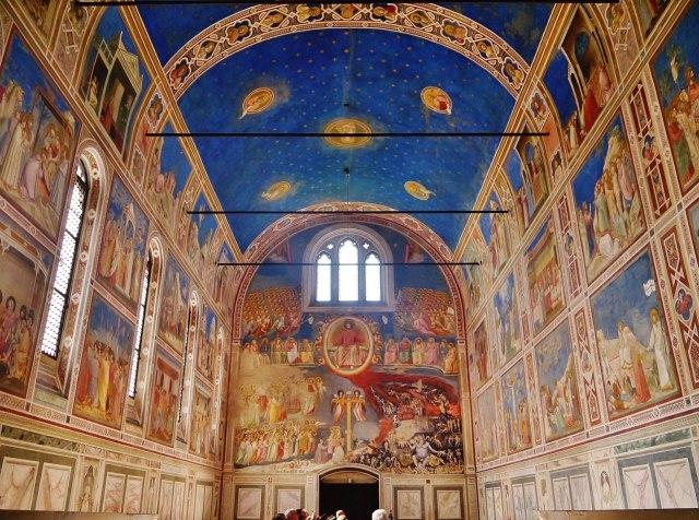 El interior de la Capilla de los Scrovegni, Patrimonio de la Humanidad (Foto: Zairon, CC BY-SA 4.0 - Archivo)