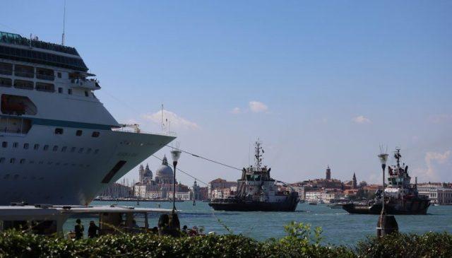 Crucero en Venecia.