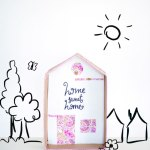 Casa de muñecas de cartón