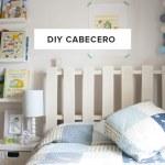 DIY cabecero infantil con un palet