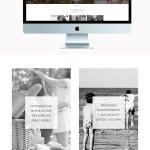 Diseño de identidad corporativa + web: Miren García