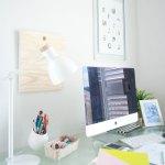 Decorar un espacio de trabajo