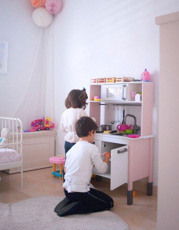 cocinita rosa niños