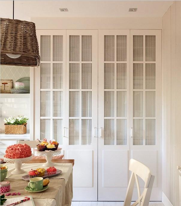 armario lavadero cocina blanca