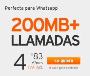Simyo 200 + Llamadas