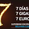 Siete días, siete gigas, siete euros: Semana santa en Simyo