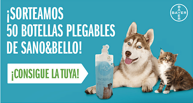 Sorteo 50 botellas plegables Sano&Bello