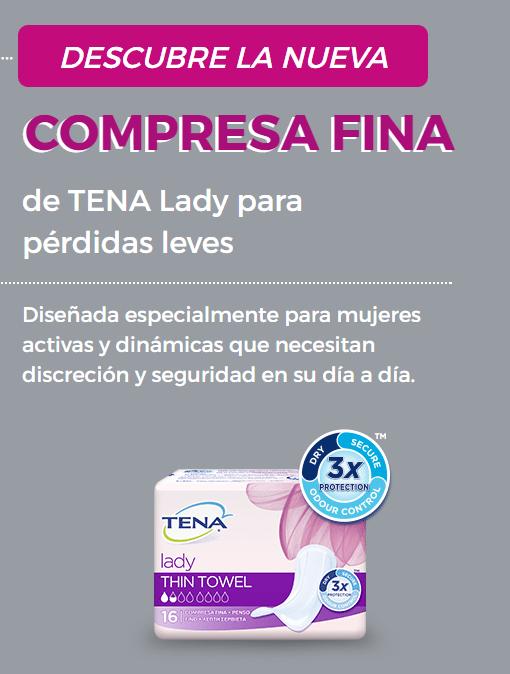 Muestra Gratis Compresa Fina TENA Lady